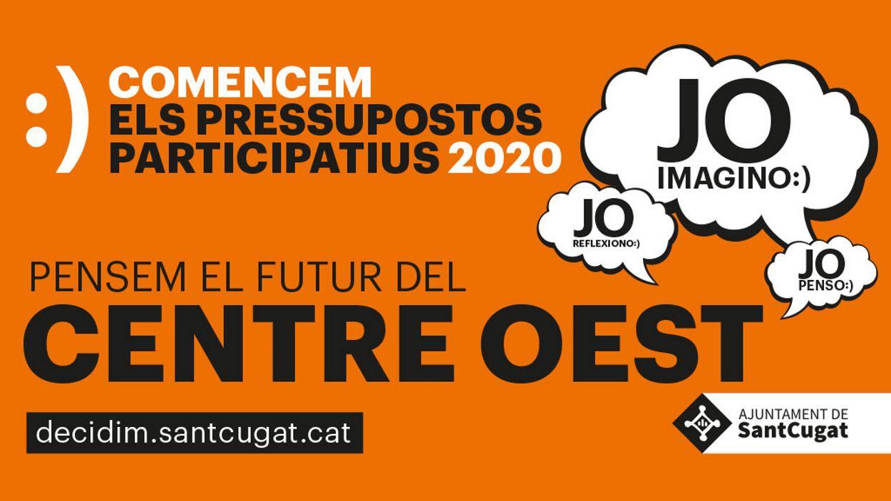 Pressupostos participatius 2020 - Taller de diagnosi Centre Oest