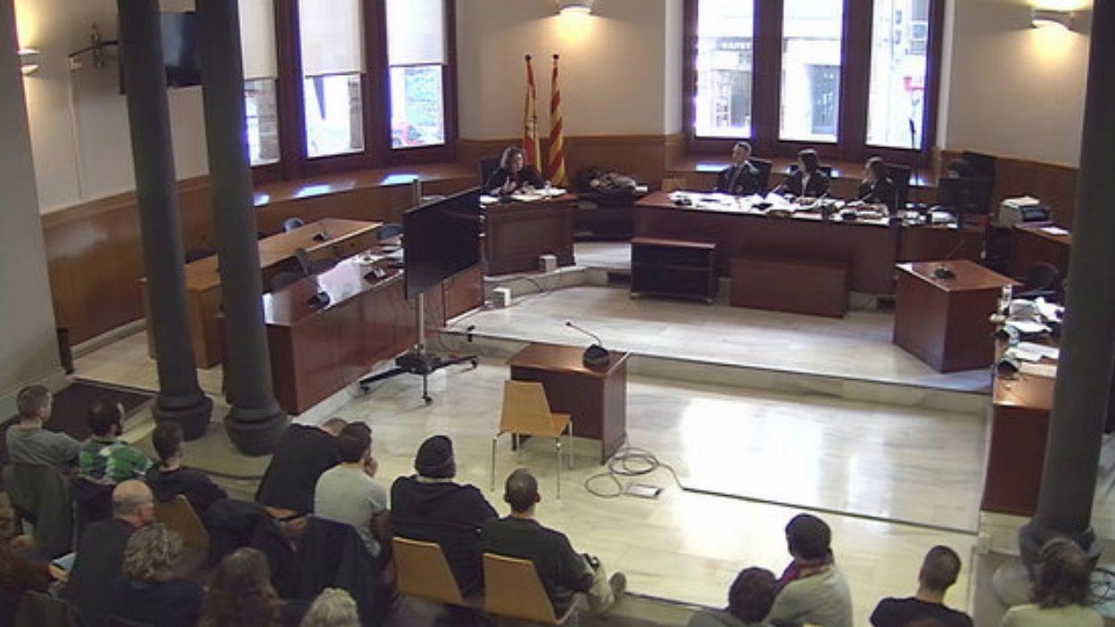 Captura del judici al TSJC / Foto: ACN