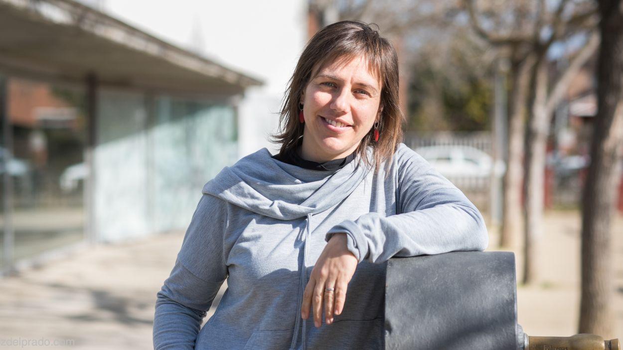 Núria Mora és la directora de l'Escola Catalunya / Foto: Inez del Prado