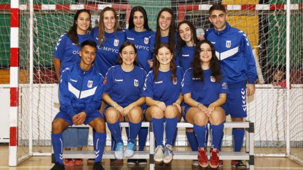 El primer equip femení de l'Olímpyc Floresta / Foto: Cedida