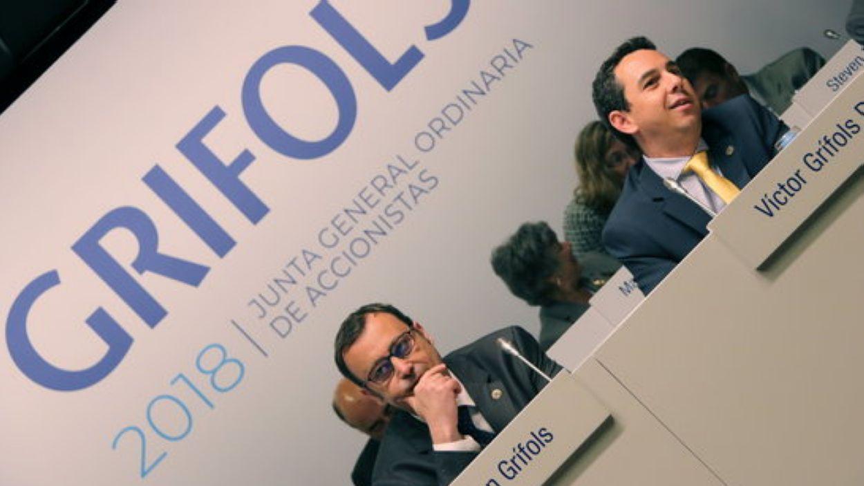 Raimon i Víctor Grifols / Foto: ACN