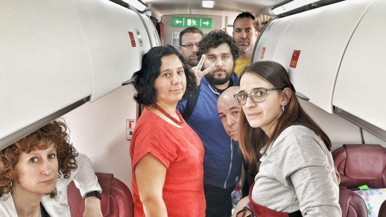 Imatge d'arxiu de la regidora Gemma Aristoy en un dels projectes finançats / Foto: Fons Català de Cooperació
