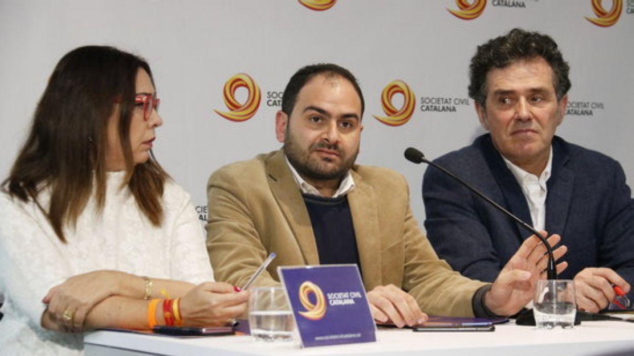 Sonia Reina, Fernando Sánchez Costa i Álex Ramos / Foto: ACN