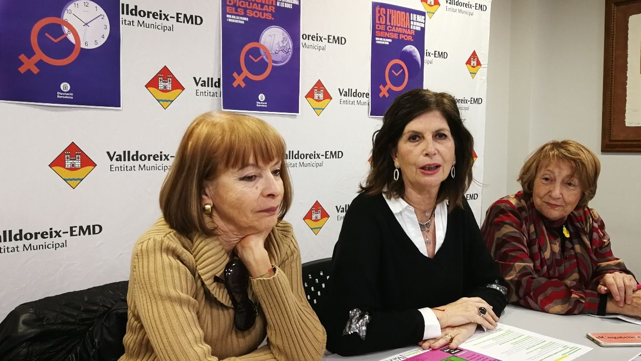 Moment de la presentació dels actes a l'EMD de Valldoreix / Foto: Cugat Mèdia