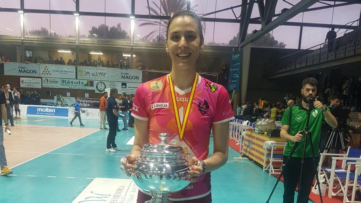 Aina Berbel, campiona de la Copa de la Reina / Font: Aina Berbel