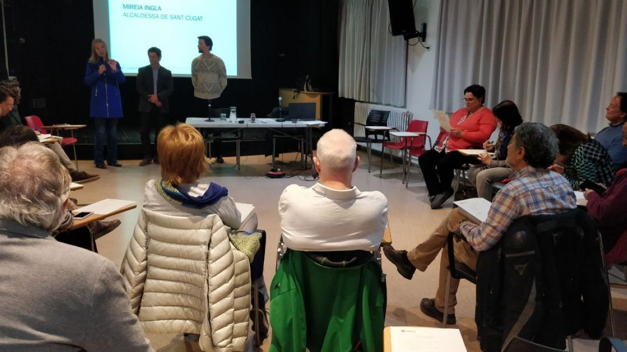La sessió ha tingut lloc a la Casa de Cultura / Foto: Cugat Mèdia