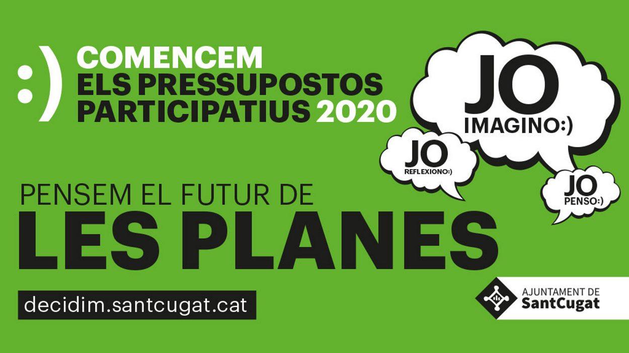 Pressupostos participatius 2020 - Taller de diagnosi Les Planes