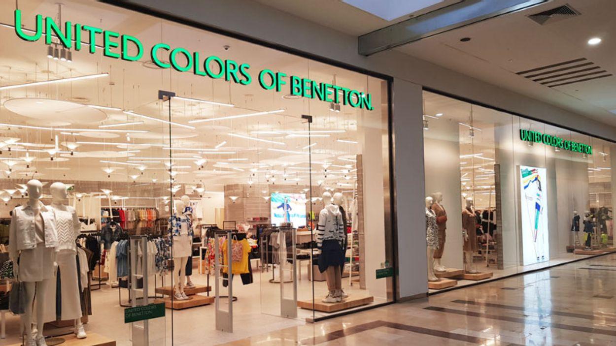 La botiga Benetton es troba ara a la planta superior del centre comercial / Foto: Sant Cugat Centre Comercial