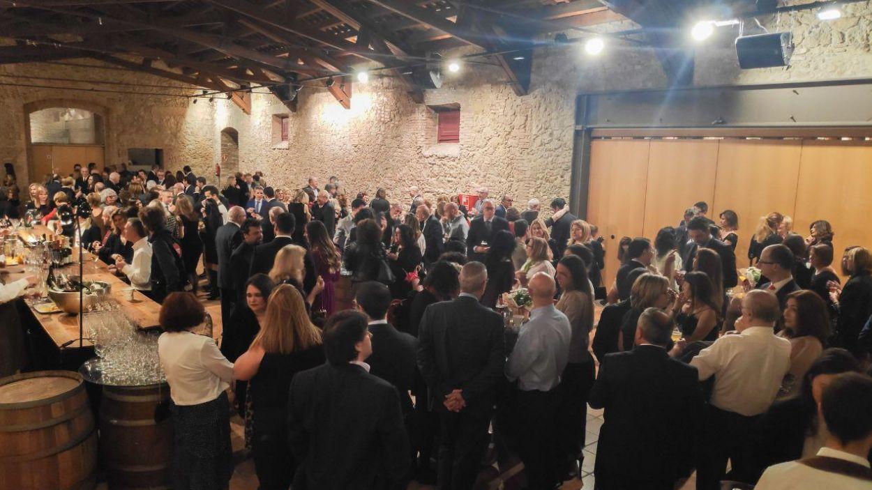 El sopar ha reunit 250 persones / Foto: Cugat Mèdia