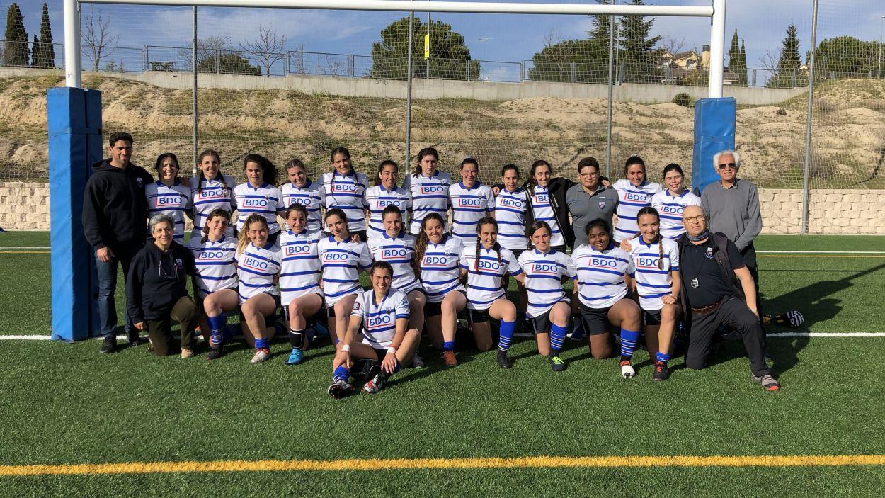 El femení del Rugby Sant Cugat / Foto: Rugby Sant Cugat