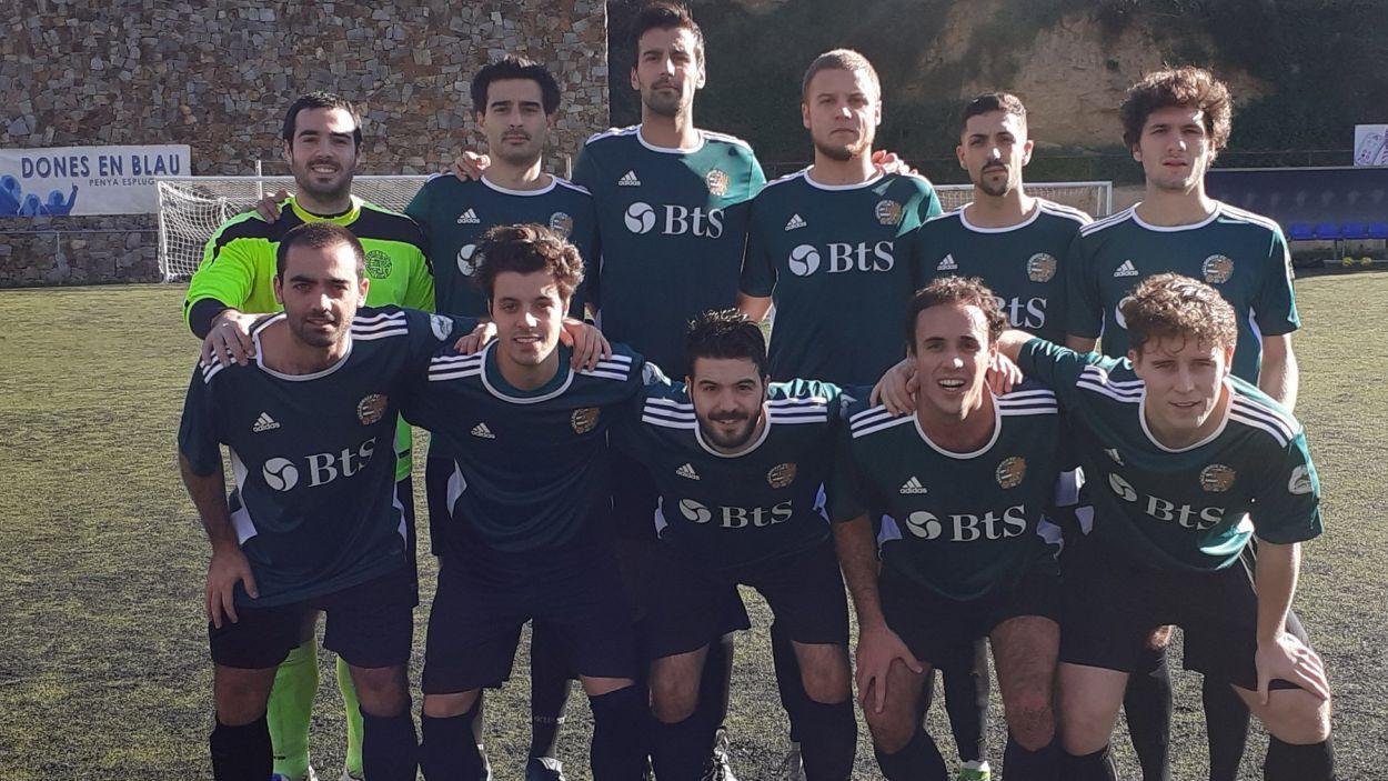 El Valldoreix s'ha endut el derbi davant el SantCu / Font: Valldoreix FC