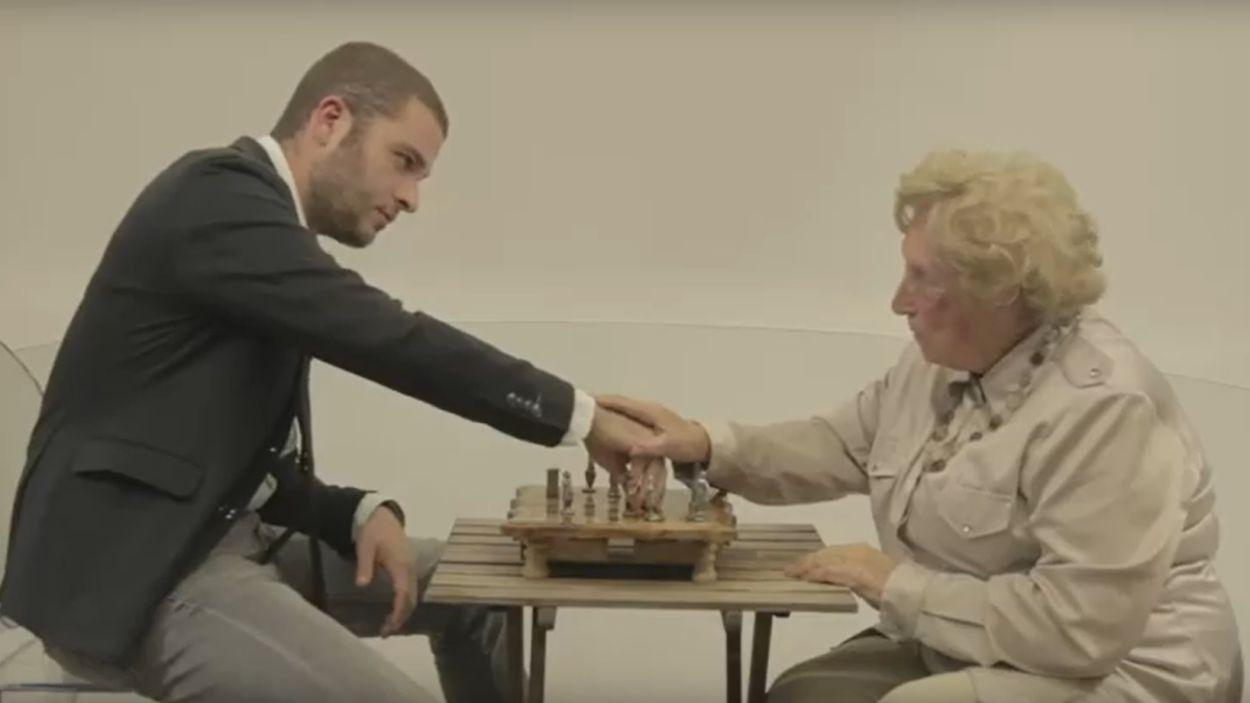 Un moment del clip / Foto: Captura del curt