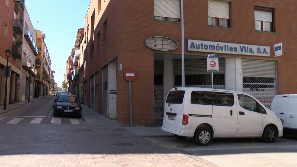 El nou local es troba al carrer Borrell / Foto: Cugat Mèdia