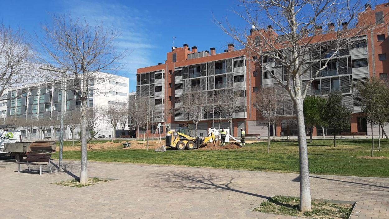 Les obres dels nous mòduls de la Mirada, ubicats a Volpelleres, estaran enllestides pel curs vinent / Foto: Cedida