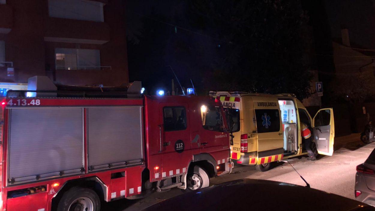 Els bombers han sufocat el foc / Foto: Cugat Mèdia