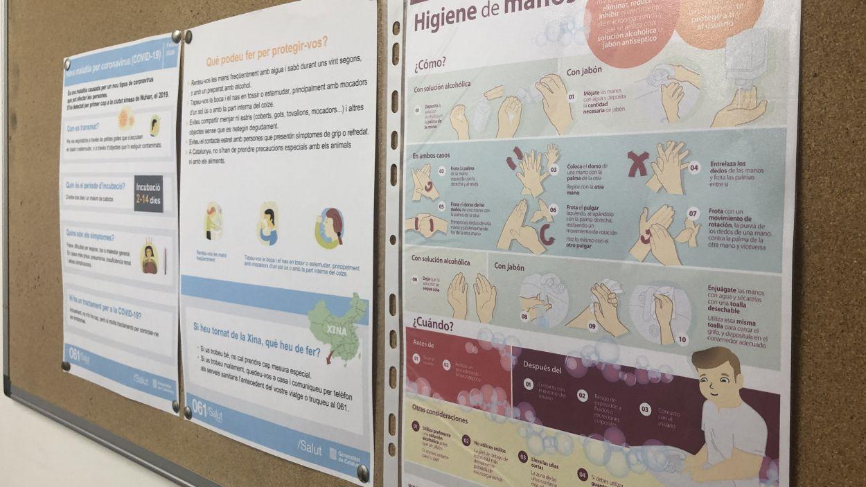 La prevenció s'imposa a Sant Cugat contra el coronavirus
