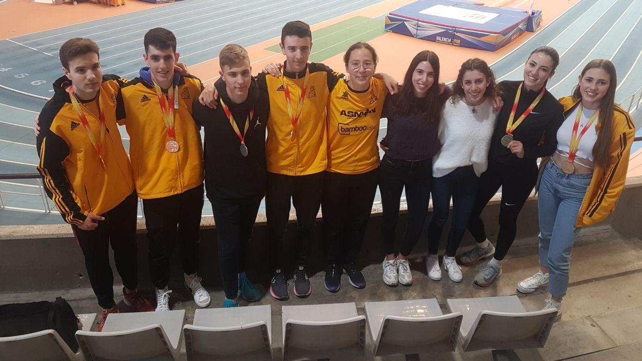 La secció d'atletisme del Club Muntanyenc continua sumant èixts / Font: Muntanyenc Sant Cugat