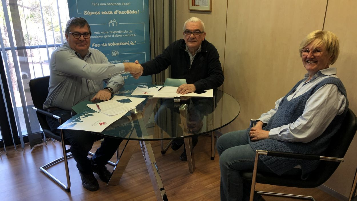 Josep Puig, Pablo Alonso i Elena Degollada / Foto: EMD
