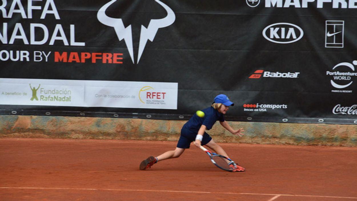 Imatge de la darrera edició del torneig Rafa Nadal / Font: Rafa Nadal Tour by Mapfre