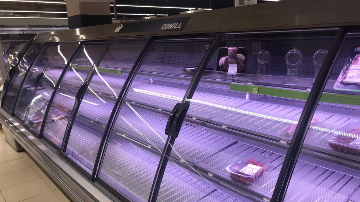 La distribució alimentària a Catalunya assegura que l'abastiment de productes 'està totalment garantit'