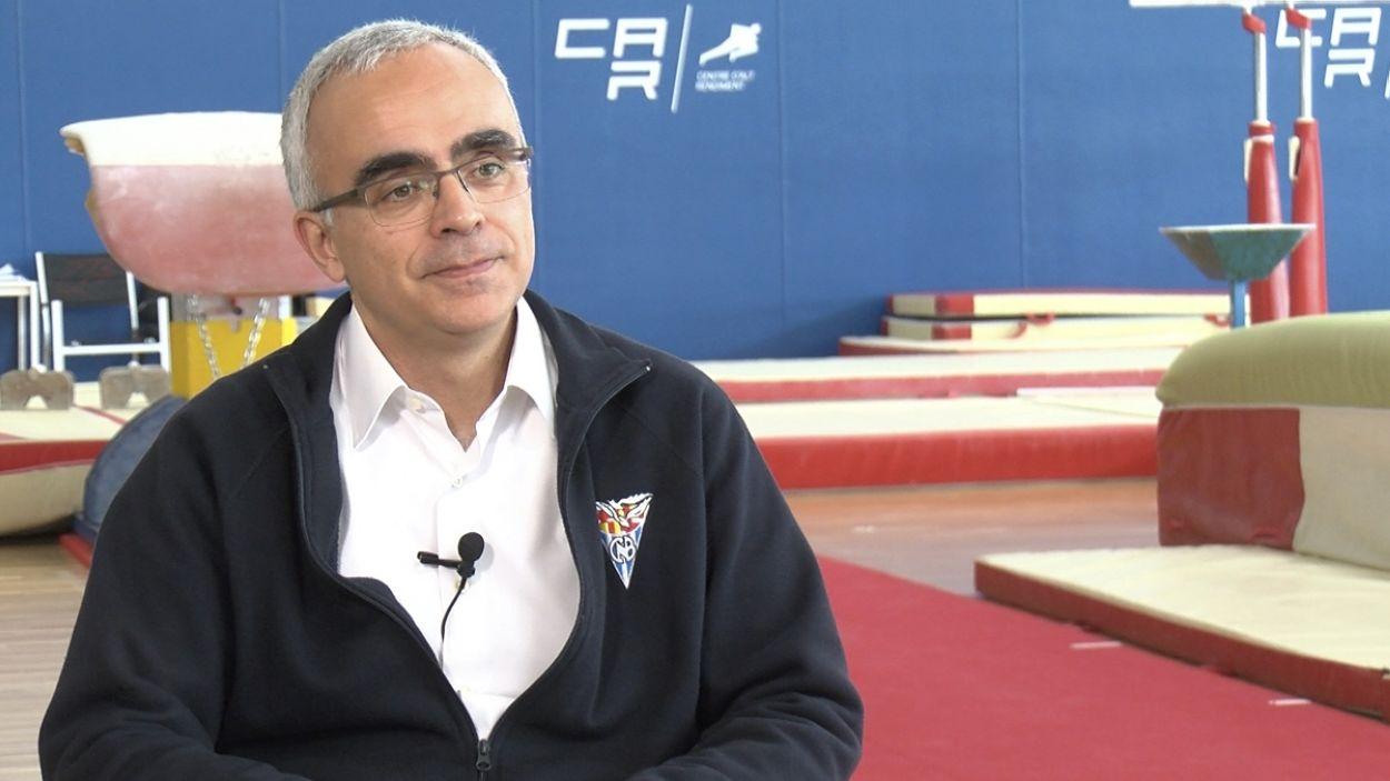 Ramon Terrassa és el director del CAR / Font: Cugat Mèdia