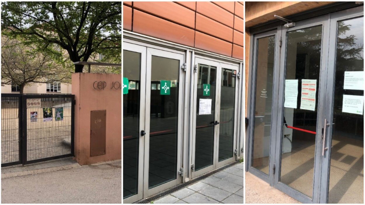 Centres educatius i equipaments municipals de Sant Cugat estan tancats des d'aquest divendres i durant 15 dies / Foto: Cugat Mèdia