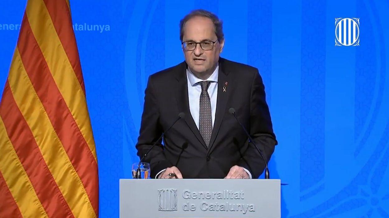 El Govern vol confinar Catalunya per aturar l'avanç de la pandèmia