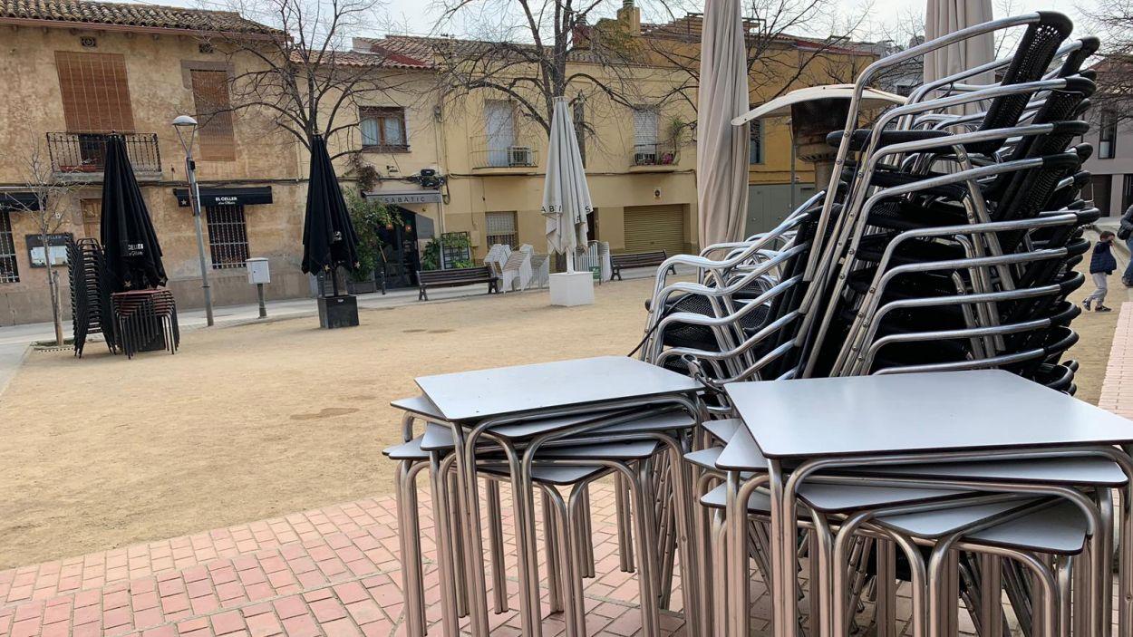 La restauració té més treballadors contractats i pateix més el tancament / Foto: Cugat Mèdia