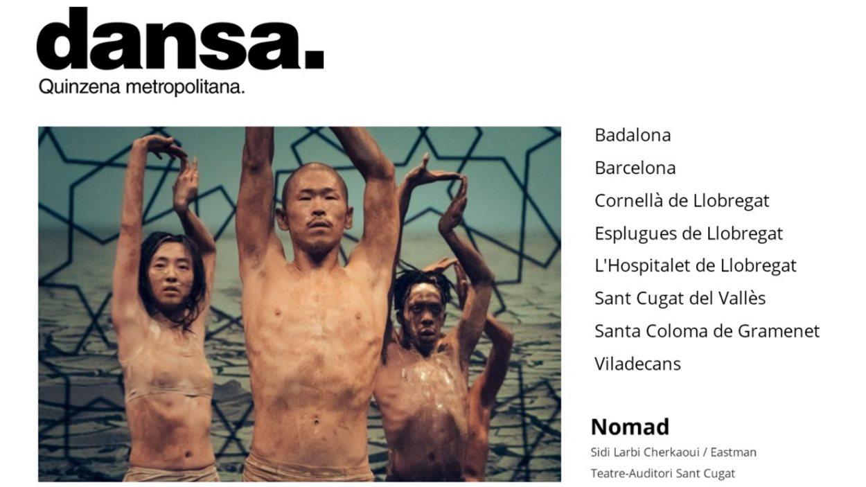 Dansa: Quinzena metropolitana, del 13 al 29 de març