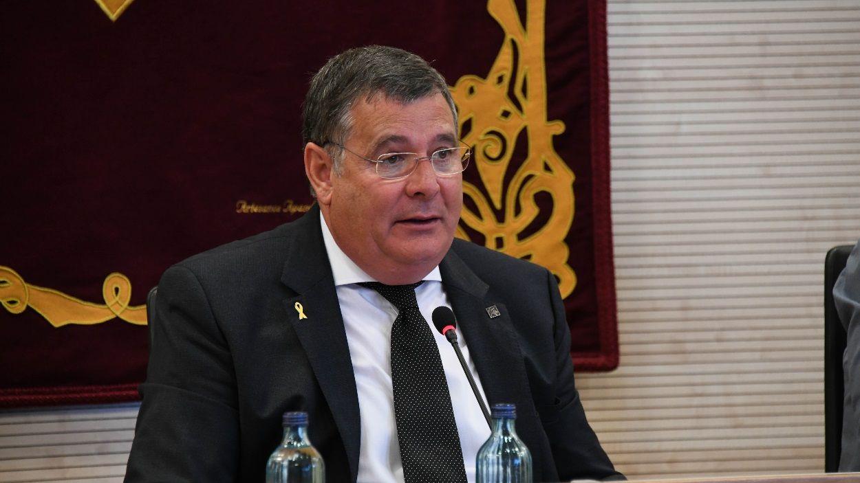 Josep Puig, president de l'EMD de Valldoreix, en una imatge d'arxiu / Foto: Localpres