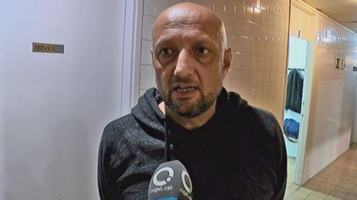 Dani José, nou entrenador de l'Snatts Femení Sant Adrià / Font: Cugat Mèdia