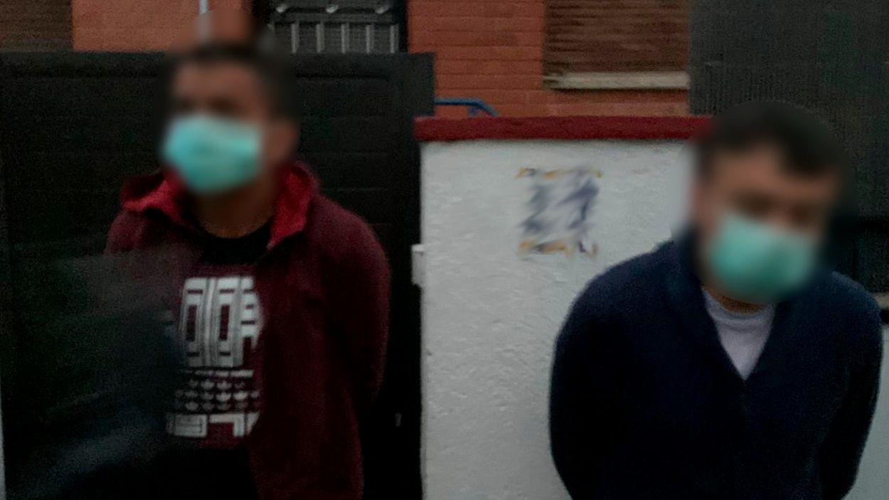 Dos detinguts 'in fraganti' quan sortien amb mascaretes d'intentar robar en una casa de Sant Cugat