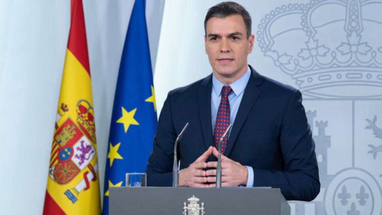 El president del govern espanyol, Pedro Sánchez / Foto: ACN