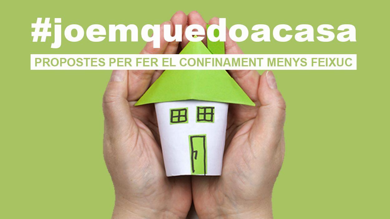 Cugat Mèdia estrena el nou espai #joemquedoacasa on recull les propostes dels santcugatencs