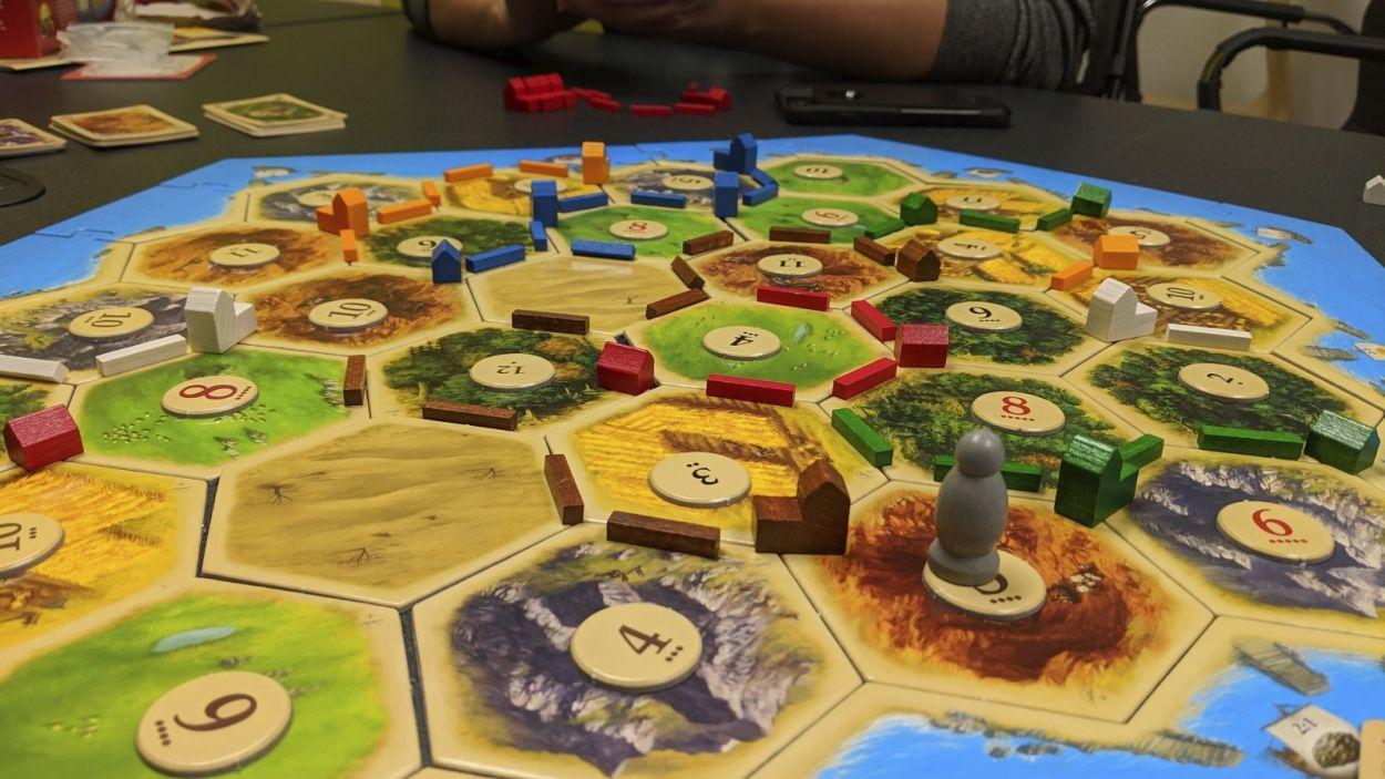 El Catan, un dels jocs més populars / Foto: Wikipedia Commons