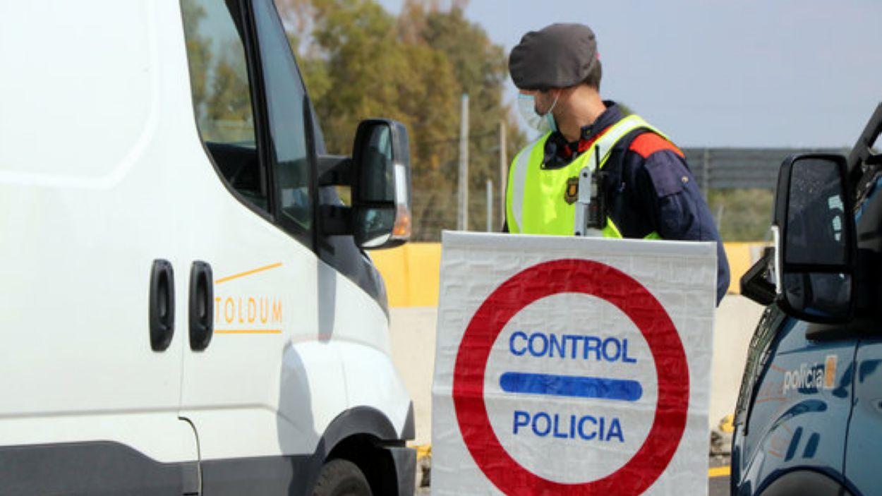 Els Mossos d'Esquadra vol evitar els desplaçaments a les segones residències / Font: ACN
