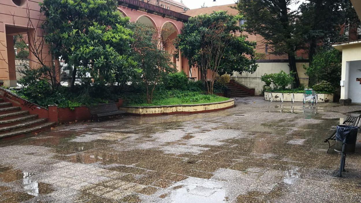 Imatge de la Casa Mònaco aquest dilluns / Foto: Cugat Mèdia