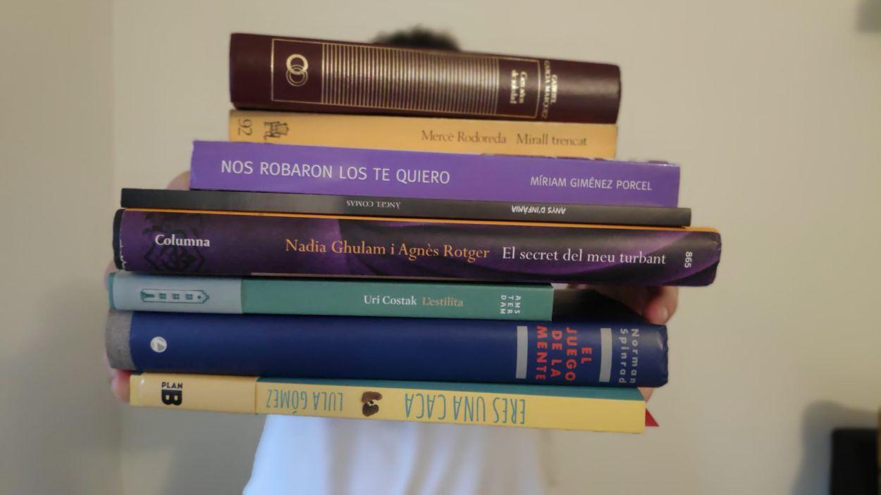 Recomanacions de llibres per aquests dies de confinament / Foto: Cugat Mèdia