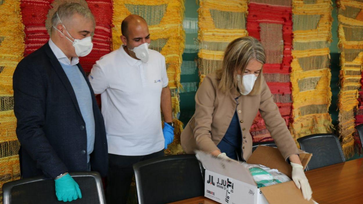 L'Ajuntament ha comprat 1.000 mascaretes / Foto: Ajuntament