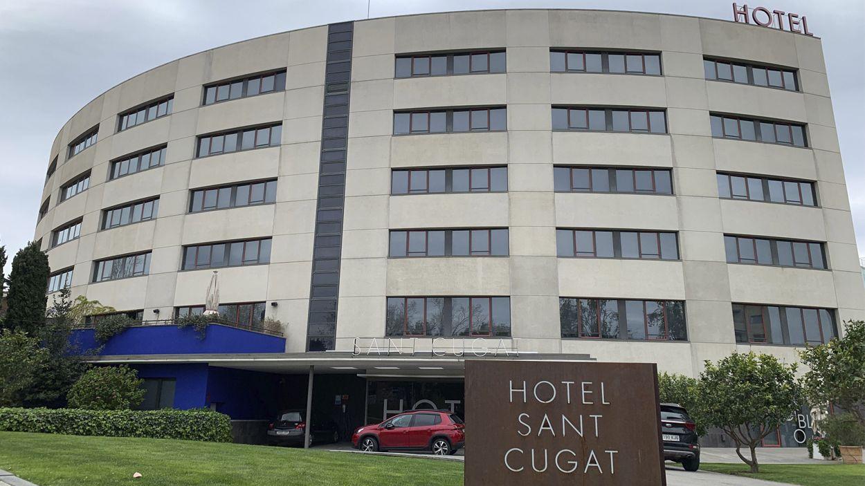 El sector hoteler de Sant Cugat també combat el coronavirus / Foto: Lluís Llebot - Cugat Mèdia