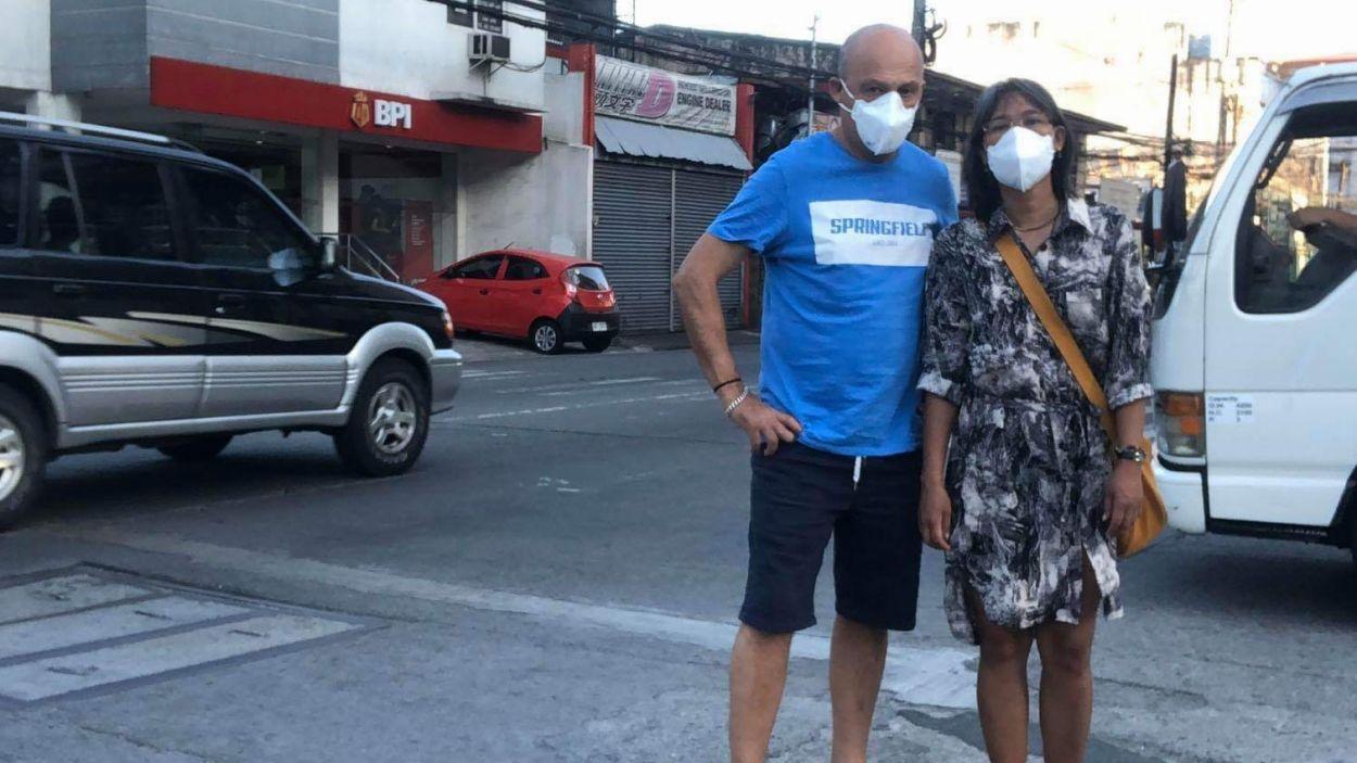Un matrimoni santcugatenc, atrapat a les Filipines sense poder tornar a casa a causa del coronavirus