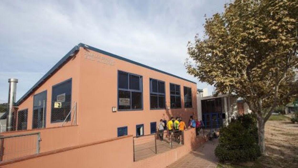 El complex esportiu de Valldoreix es troba al carrer Brollador / Foto: EMD