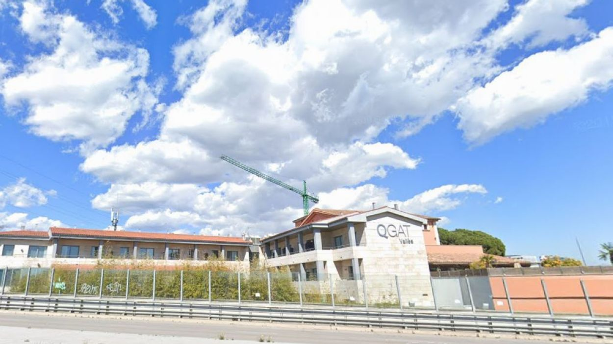QGat Hotel ha posat les seves instal·lacions a disposició dels sanitaris / Foto: Google Maps