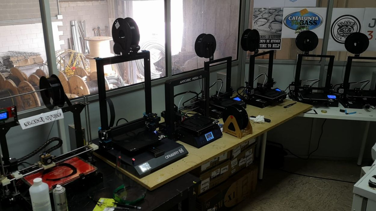 L'empresa rubinenca utilitza 10 impressores 3D / Foto: Cedida