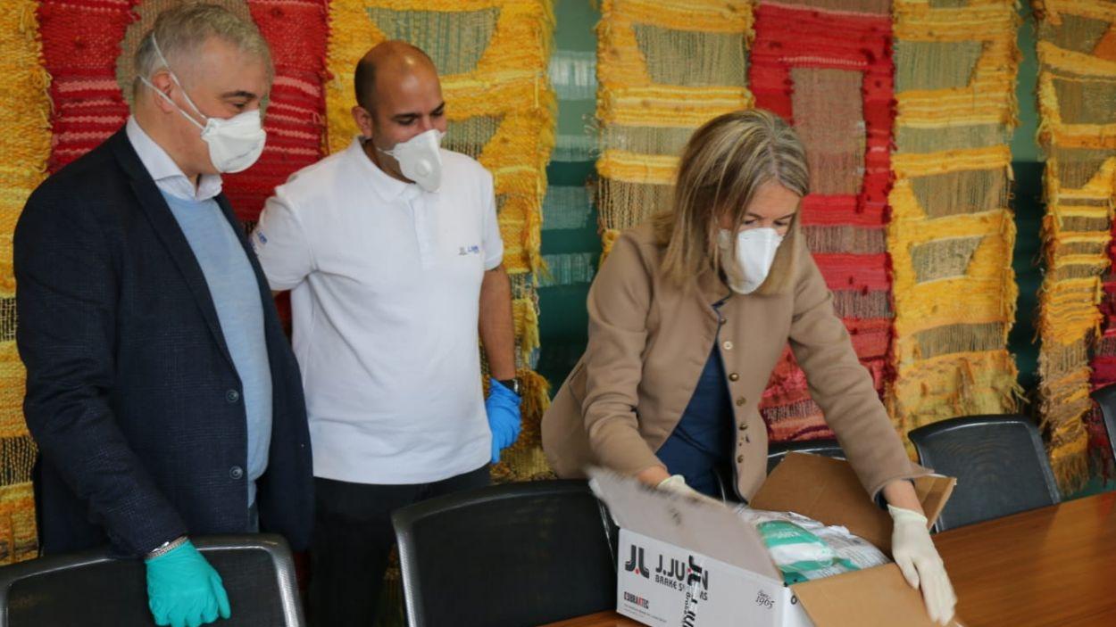 L'Ajuntament ha comprat 1.000 mascaretes per a diferents col·lectius / Font: Ajuntament