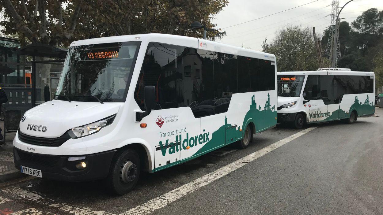 L'EMD estableix la gratuïtat del transport urbà de la vila / Foto: EMD Valldoreix