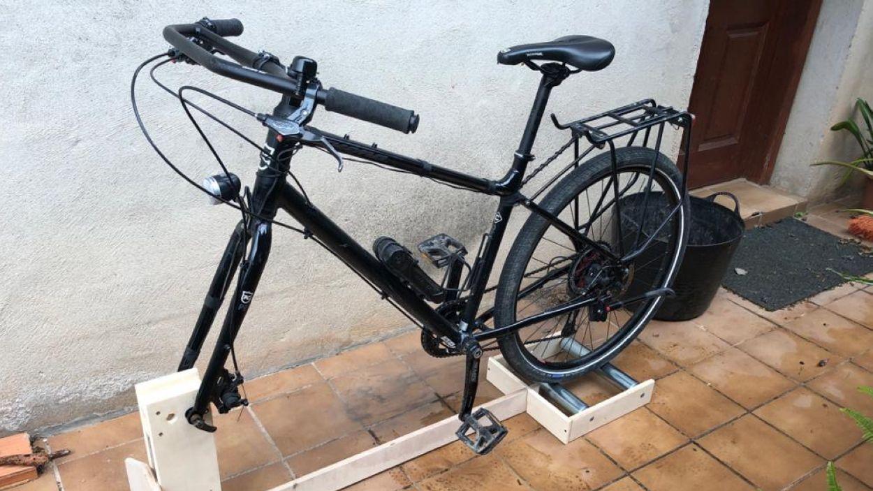 Clinicbikes es reinventa amb corrons per convertir les bicis en estàtiques