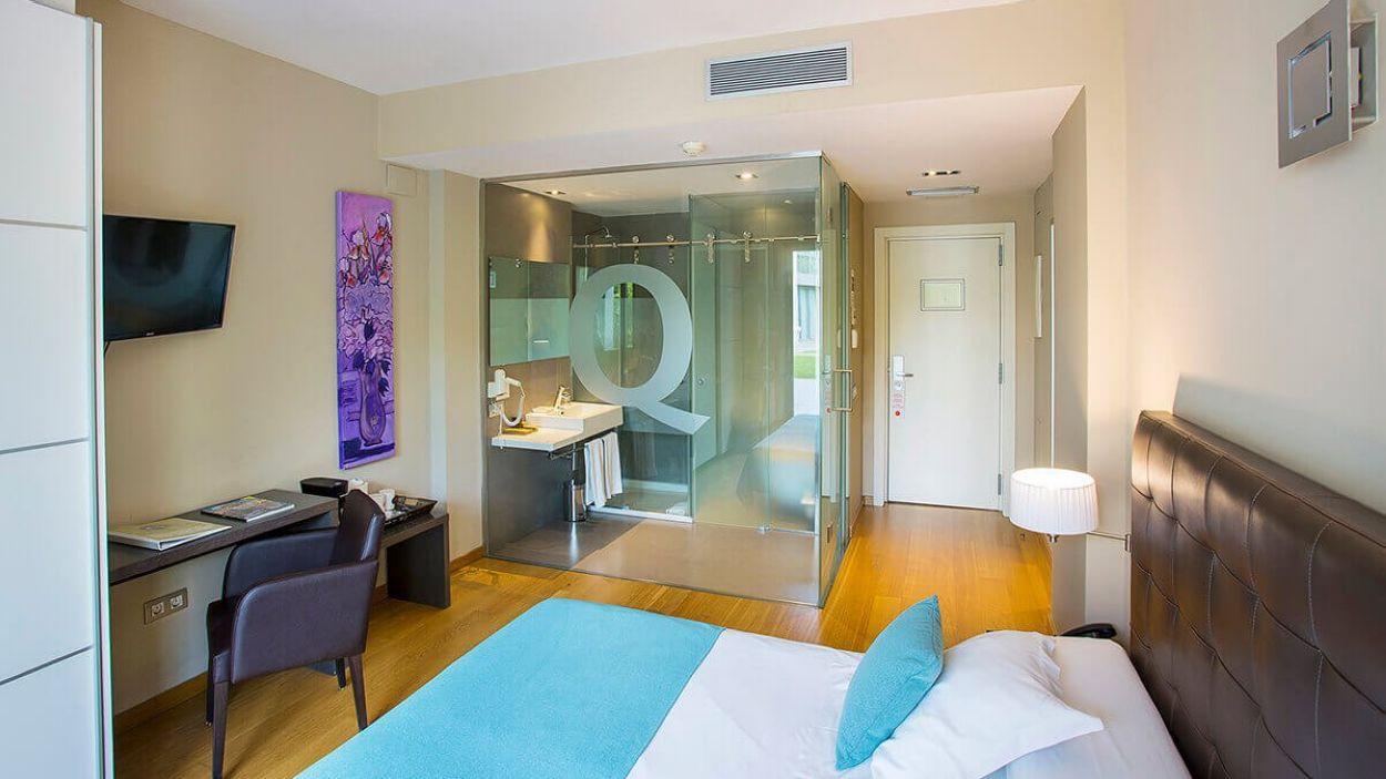 QGat Hotel ha posat les seves instal·lacions a disposició dels sanitaris / Foto: Ajuntament