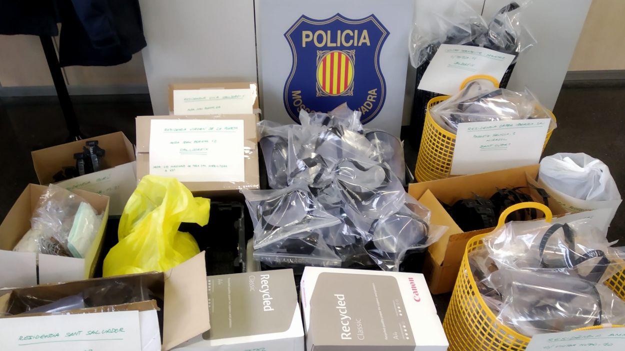 Imatge del material distribuït / Foto: Mossos d'Esquadra