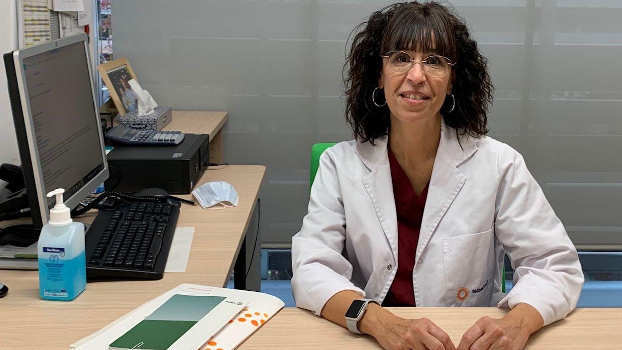 La doctora Montse Gavagnach, directora del CAP Valldoreix / Foto: Mútua Terrassa